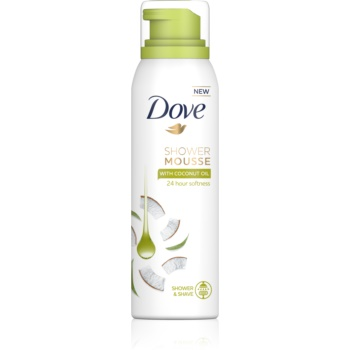 Dove Coconut Oil spumă pentru duș 3 in 1 imagine 2021 notino.ro
