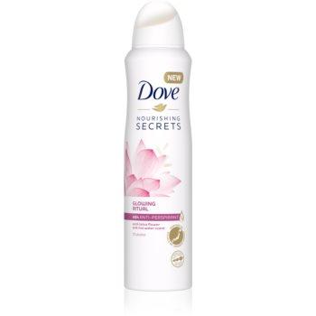 Dove Nourishing Secrets Glowing Ritual spray anti-perspirant 48 de ore imagine 2021 notino.ro
