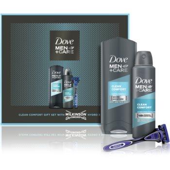 Dove Men+Care Clean Comfort set cadou (pentru barbati) imagine 2021 notino.ro