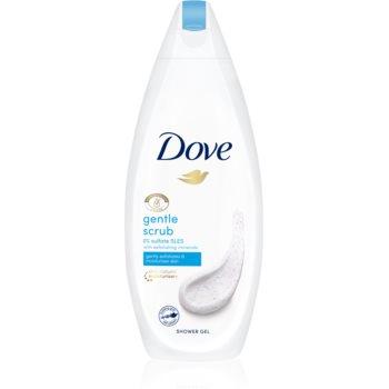 Dove Gentle Exfoliating gel de dus hidratant notino.ro