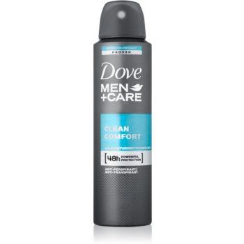 Dove Men+Care Clean Comfort deodorant spray antiperspirant 48 de ore notino.ro
