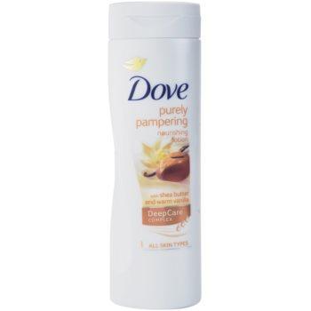 Dove Purely Pampering Shea Butter lotiune de corp hranitoare notino.ro