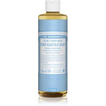 Dr. Bronner's Baby-Mild săpun lichid universal fara parfum notino.ro