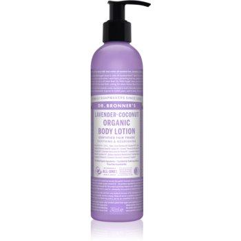 Dr. Bronner's Lavender & Coconut lapte de corp intens hrănitor pentru piele normala si uscata notino.ro