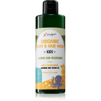 Dr. Feelgood Kids Chamomile & Lavender gel de dus reconfortant cu musetel notino.ro
