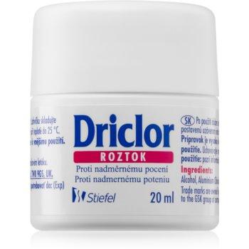 Driclor Solution antiperspirant roll-on impotriva transpiratiei excesive imagine 2021 notino.ro