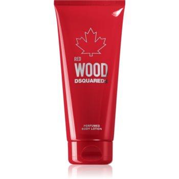 Dsquared2 Red Wood loțiune parfumată pentru corp pentru femei