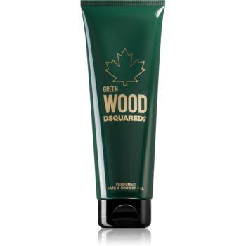 Dsquared2 Green Wood gel de dus si baie pentru bărbați