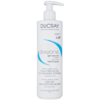 Ducray Dexyane gel de curatare pentru fata pentru piele uscata spre atopica imagine 2021 notino.ro