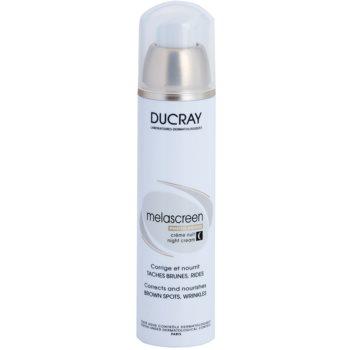Ducray Melascreen crema de noapte nutritiva impotriva petelor pigmentate si a ridurilor notino.ro