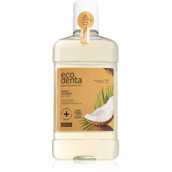 Ecodenta Cosmos Organic Minty Coconut apa de gura imagine 2021 notino.ro