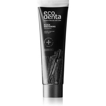 Ecodenta Expert Black Whitening Pasta de dinti pentru albire neagra fara flor imagine 2021 notino.ro