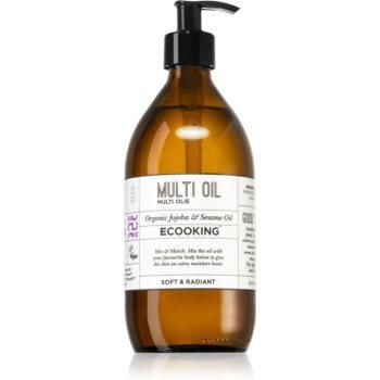 Ecooking Eco ulei multifunctional pentru față, corp și păr notino poza