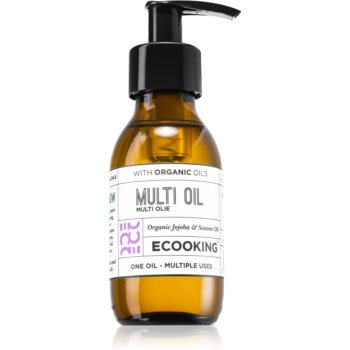 Ecooking Eco ulei multifunctional pentru față, corp și păr imagine 2021 notino.ro