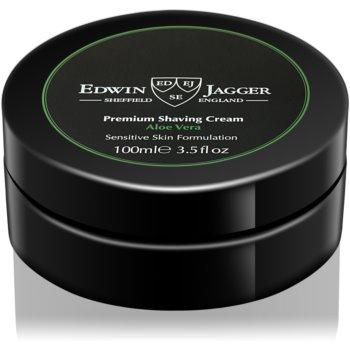 Edwin Jagger Aloe Vera cremă pentru bărbierit pentru piele sensibilă notino.ro