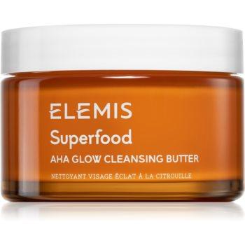 Elemis Superfood AHA Glow Cleansing Butter masca de fata pentru curatare pentru o piele mai luminoasa imagine 2021 notino.ro