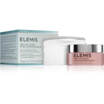 Elemis Pro-Collagen Rose Cleansing Balm balsam de curatare pentru netezirea pielii imagine 2021 notino.ro