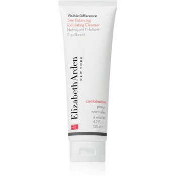 Elizabeth Arden Visible Difference Skin Balancing Exfoliating Cleanser spuma exfolianta pentru fata pentru piele normală și mixtă imagine 2021 notino.ro