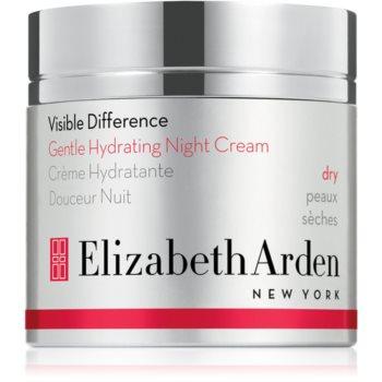 Elizabeth Arden Visible Difference Gentle Hydrating Night Cream crema de noapte hidratanta pentru tenul uscat notino.ro