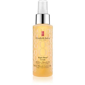Elizabeth Arden Eight Hour Cream All-Over Miracle Oil ulei hidratant pentru față, corp și păr imagine 2021 notino.ro