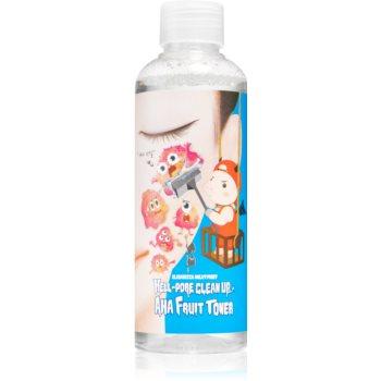 Elizavecca Milky Piggy Hell-Pore Clean Up AHA Fruit Toner tonic pentru reducerea porilor dilatati cu efect exfoliant image0