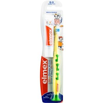 Elmex Caries Protection Kids Periuță de dinți pentru copii Soft + mini-paste imagine 2021 notino.ro