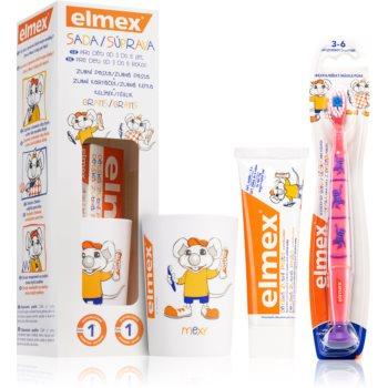 Elmex Kids 3-6 Years set pentru îngrijirea dentară pentru copii imagine notino.ro