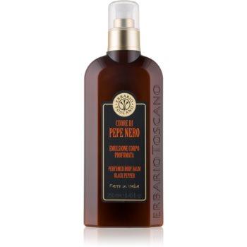 Erbario Toscano Black Pepper balsam de corp parfumat pentru barbati notino.ro