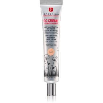 Erborian CC Crème Centella Asiatica Crema radianta pentru o piele uniformă ton SPF 25 big pack notino.ro