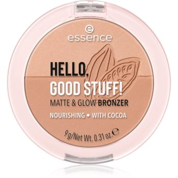Essence Hello, Good Stuff! Matte & Glow pudra bronzanta imagine 2021 notino.ro