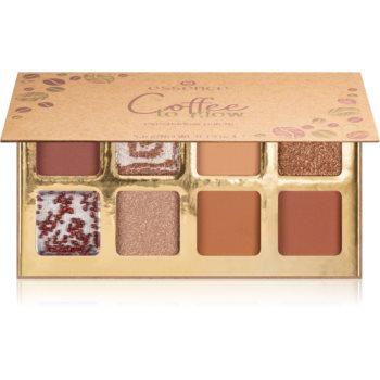 Essence Coffee to glow paleta cu farduri de ochi image0