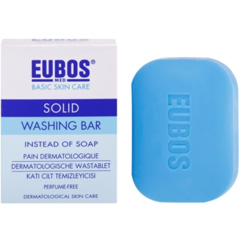 Eubos Basic Skin Care Blue syndet fara parfum imagine 2021 notino.ro