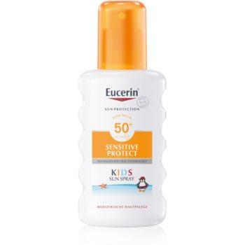Eucerin Sun Kids spray protector pentru copii SPF 50+ imagine 2021 notino.ro