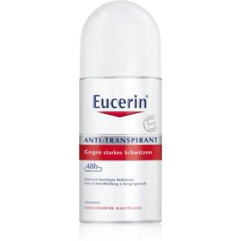 Eucerin Deo antiperspirant impotriva transpiratiei excesive imagine 2021 notino.ro