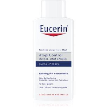 Eucerin AtopiControl ulei pentru baie si dus pentru piele uscata, actionand impotriva senzatiei de mancarime imagine 2021 notino.ro