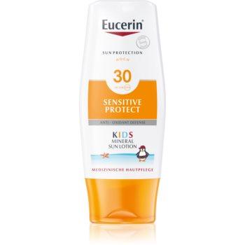 Eucerin Sun Kids lapte protector cu micro-pigmenți, pentru copii SPF 30 imagine 2021 notino.ro