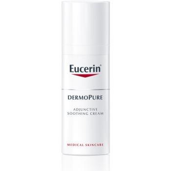 Eucerin DermoPure cremă calmantă pentru tratamentul acneei notino.ro
