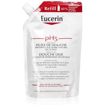 Eucerin pH5 ulei pentru dus pentru piele sensibila rezervă imagine 2021 notino.ro