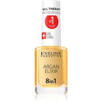 Eveline Cosmetics Nail Therapy elixir regenerant pentru unghii și cuticule imagine 2021 notino.ro