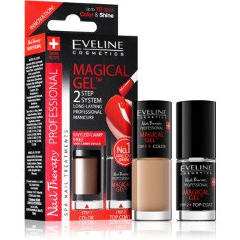 Eveline Cosmetics Nail Therapy Professional gel de unghii fara utilizarea UV sau lampa LED image0