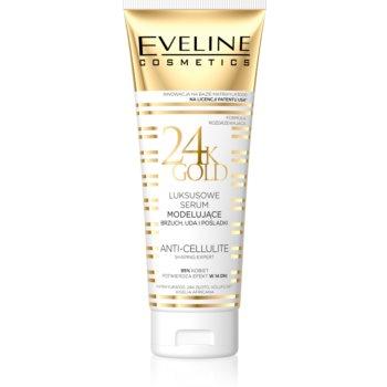 Eveline Cosmetics Slim Extreme 24k Gold ser de modelare pe abdomen, coapse și fese imagine 2021 notino.ro