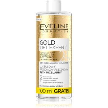 Eveline Cosmetics Gold Lift Expert apa pentru curatare cu particule micele pentru ten matur imagine 2021 notino.ro