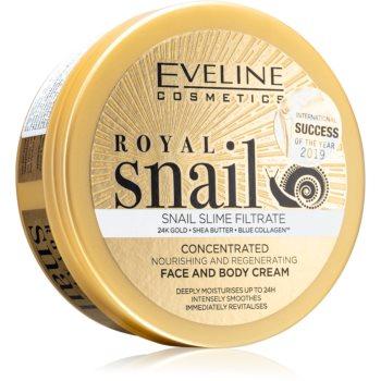 Eveline Cosmetics Royal Snail cremă intens hrănitoare pentru fata si corp notino.ro
