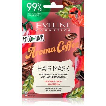 Eveline Cosmetics Food for Hair Aroma Coffee masca de întărire pentru părul slab, cu tendința de a cădea notino.ro