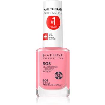 Eveline Cosmetics Nail Therapy balsam cu multivitamine cu calciu imagine 2021 notino.ro