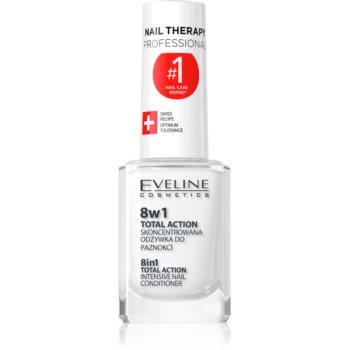 Eveline Cosmetics Nail Therapy balsam pentru unghii 8 in 1 imagine 2021 notino.ro