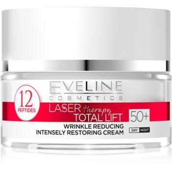 Eveline Cosmetics Laser Therapy Total Lift crema anti-rid de zi si de noapte 50+ imagine 2021 notino.ro