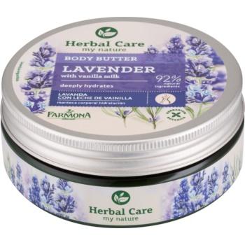 Farmona Herbal Care Lavender unt de corp profunda hidratare imagine 2021 notino.ro