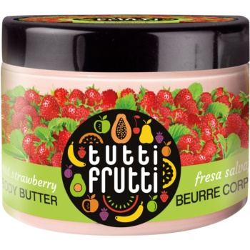 Farmona Tutti Frutti Wild Strawberry Unt de corp catifelat imagine 2021 notino.ro