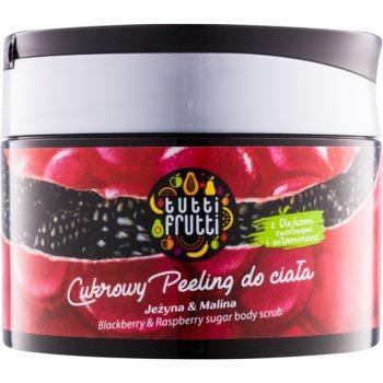 Farmona Tutti Frutti Blackberry & Raspberry exfoliant de corp cu zahăr imagine 2021 notino.ro